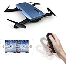 "$59.99 Elfie Selfie Drone: This selfie drone is the size of your hand and big enough to throw in your purse! It is said to be one of the best ""selfie drones"" on the market and for the price, it seems hard to beat!"