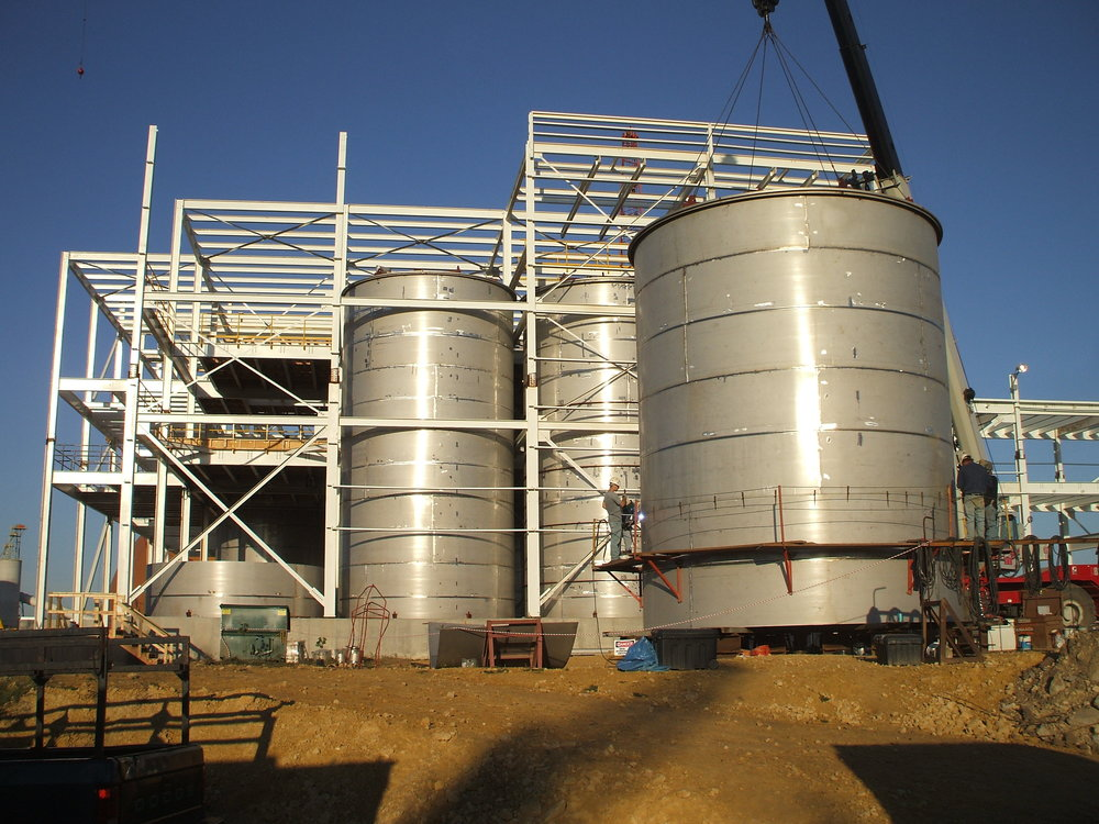 Duplex Stainless Steel Process Tank Project