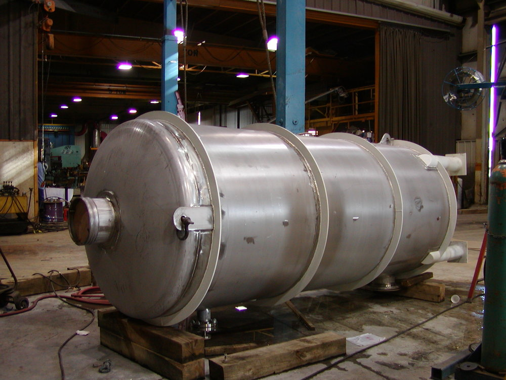 Copy of Vertical Stainless Steel Process Vessel