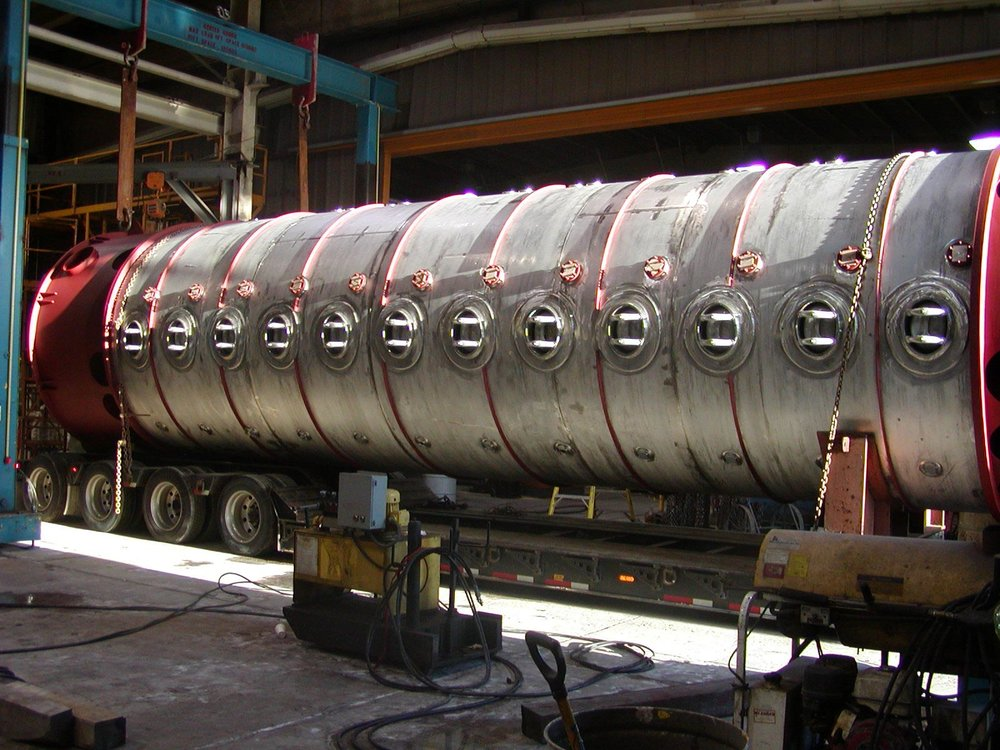 Multi-Resin Bed Pressurized Stainless Steel Process Vessel