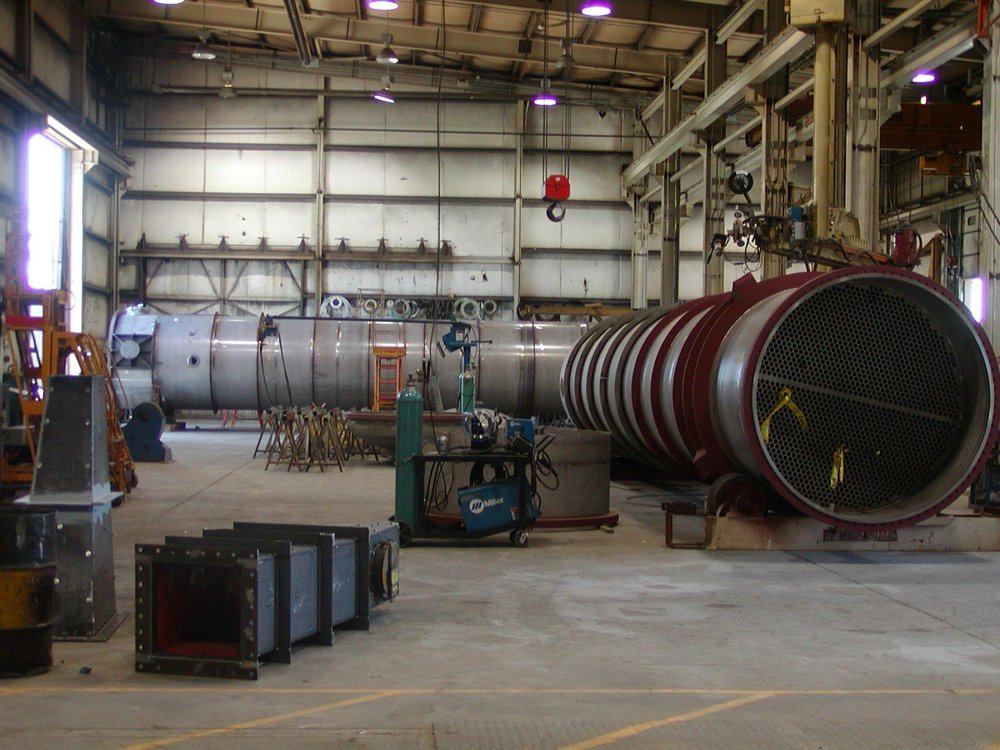 Multiple Large Heat Exchangers in Process