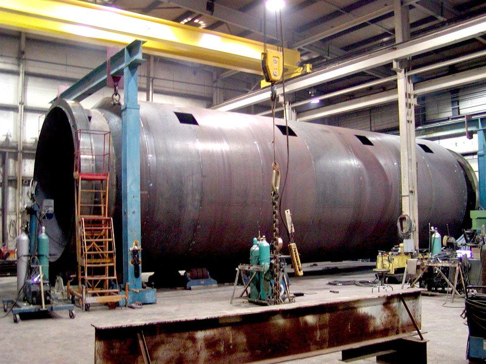 "16'4"" Diameter Swiss-Combi Rotary Dryer"