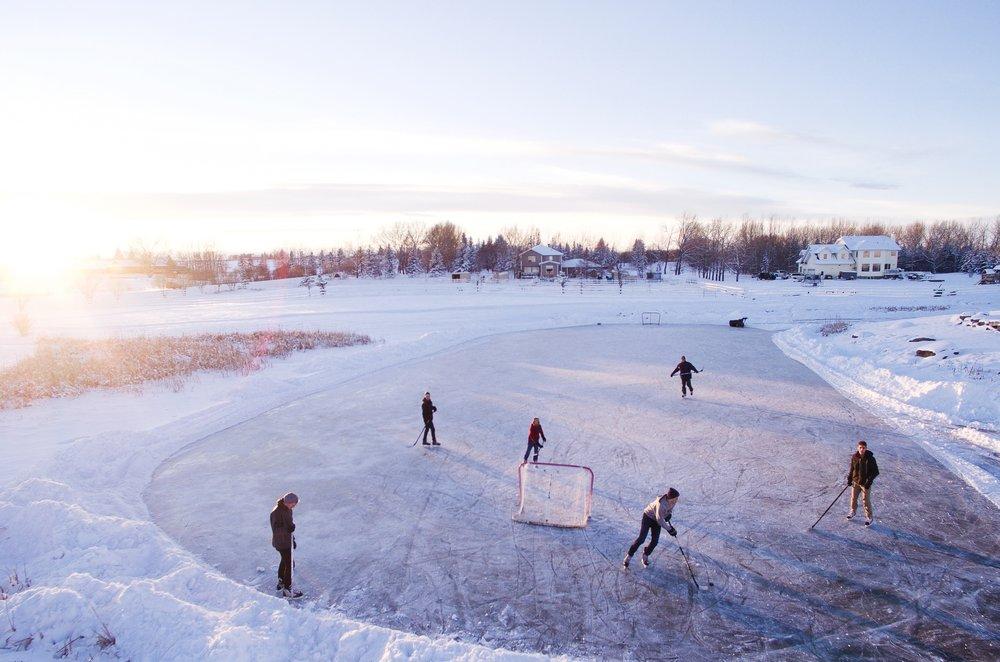 Bowness Park Skating -