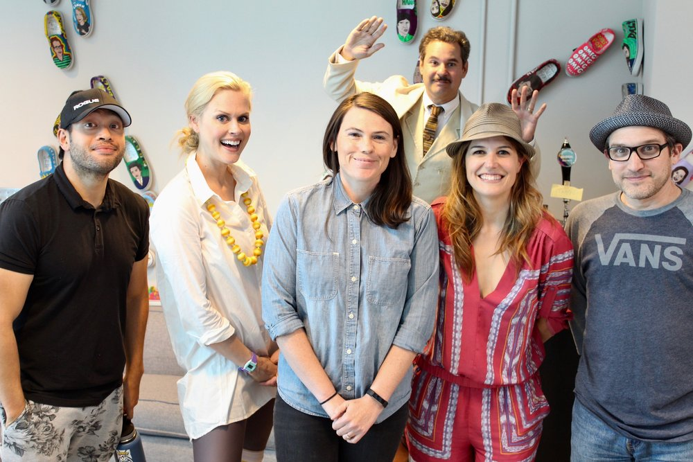 Spontaneanation with Paul F. Tompkins#130 A Bank Heist(September 18th, 2017) - Paul F. Tompkins welcomes ladies and gentleman back to Spontaneanation! This time out, Paul's special guest is Clea DuVall of HBO's Veep! They chat about how Clea feels about her eye color, the worst haircut she had that she loved at the time, and a shirt she bought because it reminded her of PFT. Then, they are joined by improvisers Nicole Parker, Eugene Cordero, and Little Janet Varney to improvise a story set at A Bank Heist. And as always, Eban (only the best) Schletter scores it all on piano!