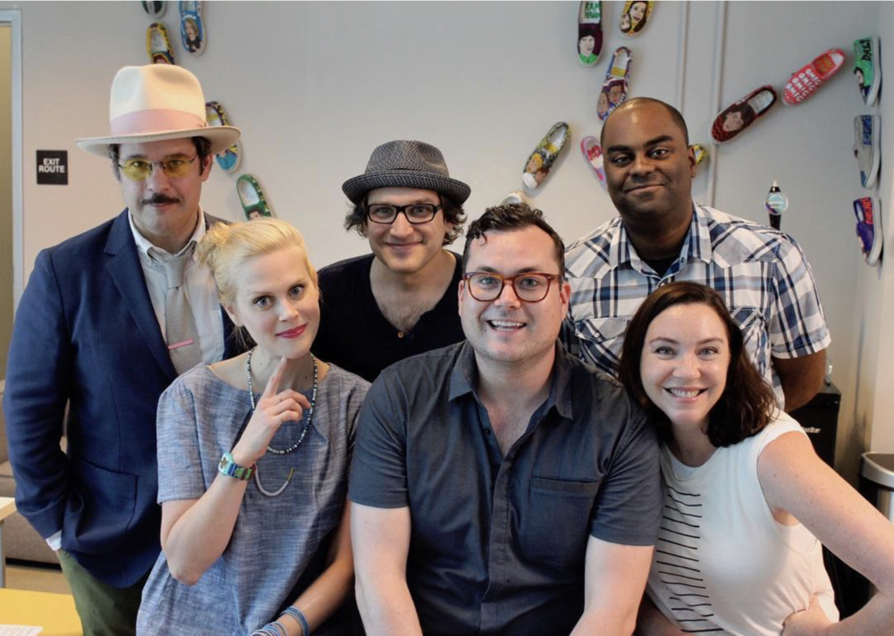Spontaneanation with Paul F. Tompkins#115 Labyrinth(June 5th, 2017) - Paul F. Tompkins welcomes everyone to the beginning of a new episode of Spontaneanation! This week, Paul's special return guest is Kristian Bruun of Orphan Black! They chat about what Kristian's worst encounter with a stranger was, what clever nicknames the kids at school had for him, and military etiquette for having to vomit. Paul is then joined by Stephanie Courtney, Shaun Diston, and Little Janet Varney to improvise a story set in a Labyrinth. And as always, Eban (only the best) Schletter scores it all on piano!