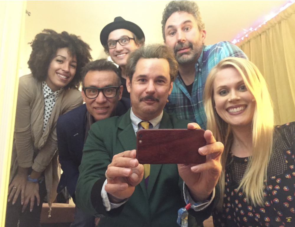 """Spontaneanation with Paul F. Tompkins#79 Madrid: Live from Outside Lands 2016(September 26th, 2016) - Paul F. Tompkins welcomes all back to Spontaneanation, recorded in front of a LIVE audience at Outside Lands in San Francisco! This week, Paul's special guest is Fred Armisen of Portlandia and Saturday Night Live! They chat about whether a cheeseburger is a part of the sandwich family, discovering that Alzheimer's didn't mean """"old timers,"""" and the true meaning of the Madonna song """"Like A Prayer."""" Paul is then joined by Craig Cackowski, Tawny Newsome, and Little Janet Varney, to improvise a story set in Madrid. And as always, Eban (only the best) Schletter scores it all on piano!"""