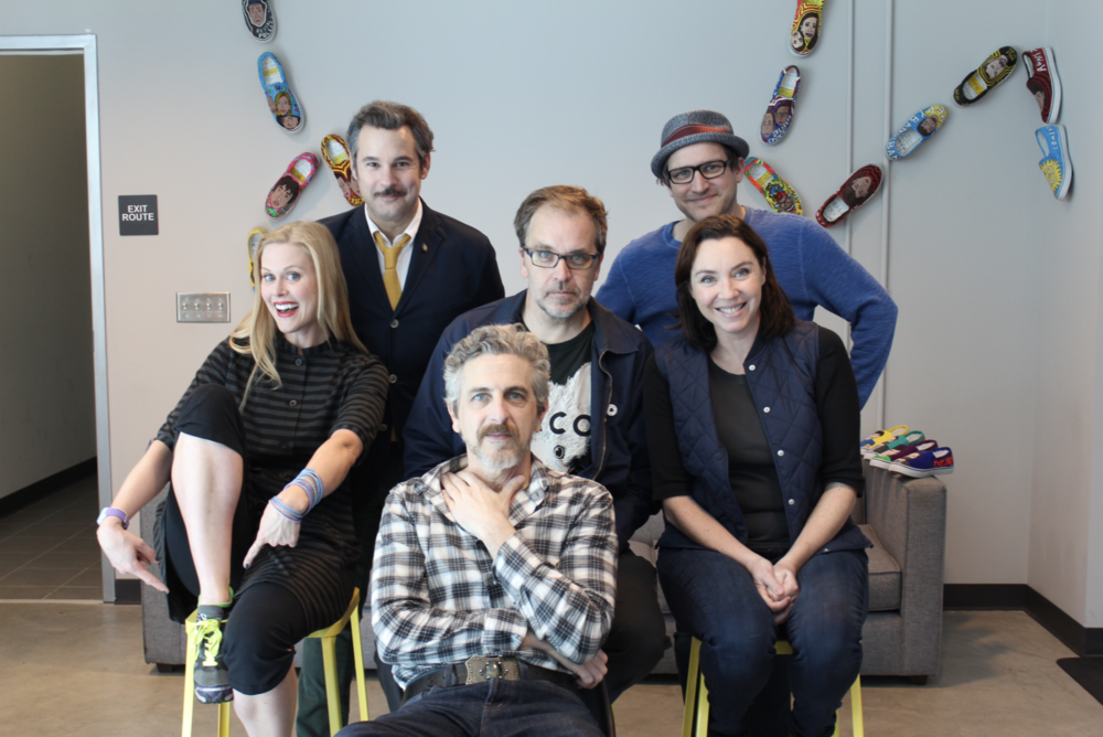 Spontaneanation with Paul F. Tompkins#53 The Line for the Circular Saw in the Lumber Department at Home Depot(March 28th, 2016) - Paul F. Tompkins welcomes all– including the bros– back to SPONTANEANATION! This week, Paul's special guest is singer-songwriter and composer Michael Penn! They chat about public restroom precautions, glamping in a tiny house, and Michael's collection of unusual musical instruments. Paul is then joined by Stephanie Courtney, Michael Oosterom, and Little Janet Varney to improvise a story set in The Line For The Circular Saw In The Lumber Department at Home Depot. And as always, Eban (only the best) Schletter scores it all on piano!