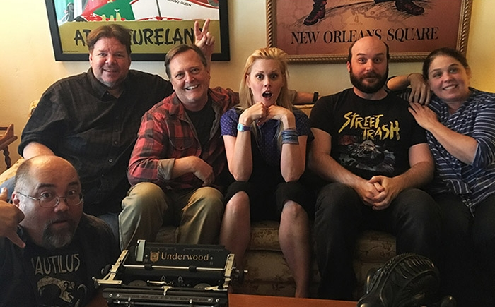 Damn Dirty GeeksJANET VARNEY AGAINST EVIL(October 9th, 2017) - It's Halloween at last, and we celebrate the season by handing out a bag full of thrills, chills and laughs with STAN AGAINST EVIL star, actress Janet Varney.Janet found some time in her busy schedule — between Sketchfest in San Francisco, filming Season Two of STAN in Atlanta, and her recurring role in the sitcom YOU'RE THE WORST — to share her experiences with the DDG and we had a blast.As we've asked of many podcast guests, Janet shared her own geek origin story growing up in Tuscon, including memories of forging her comedic perspective watching Steve Martin and Monty Python with her father. Yet Janet was a late starter in comedy, relatively speaking, despite being into acting at a young age, which leads to some surprising insights on her comedy-filled career.