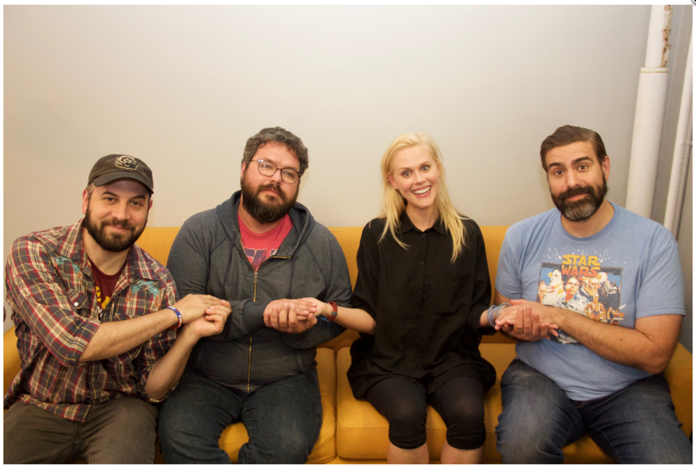 Hello From the Magic TavernSeason 2, Ep 37 – Crone (w/ Janet Varney)(November 27th, 2017) - We're joined by a withered old crone that makes delicious baked goods and steals water.