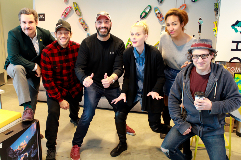 Spontaneanation with Paul F. Tompkins#154 Baskin-Robbins(March 4th, 2018) - Paul F. Tompkins welcomes gigglers and laughers to Spontaneanation! This time out, Paul's special guest is actor and comedian Tony Hale of Arrested Development and Veep! Tony chats about whether or not he would invite himself somewhere, the size of a party mattering to him, and not wanting to be sit next to strangers at a wedding. Then, they are joined by Eugene Cordero, Tawny Newsome, and Little Janet Varney, to improvise a story set in a Baskin-Robbins. And as always, Eban (only the best) Schletter scores it all on piano!