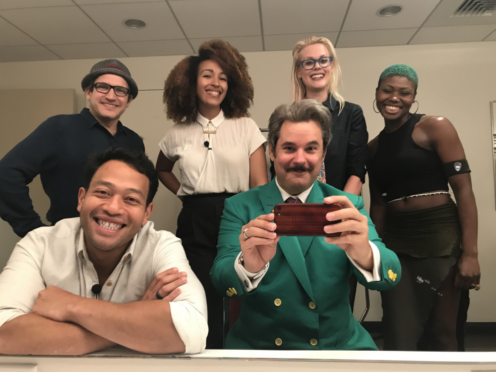 Spontaneanation with Paul F. Tompkins – #181 San Diego Comic-Con: Live from Philly(September 10th, 2018) - Paul F. Tompkins welcomes the wonderful crowd of Philadelphia to Spontaneanation! This time out, Paul's special guest is Amalgam Comics & Coffeehouse owner Ariell Johnson! Ariell chats about what her first pet's name was, all of her fish she had growing up, and why she'd prefer a cat over a dog if she were to get another pet. Then, they are joined by improvisers Eugene Cordero, Tawny Newsome, and Little Janet Varney, to improvise a story set at San Diego Comic-Con. And as always, Eban (only the best) Schletter scores it all on piano!