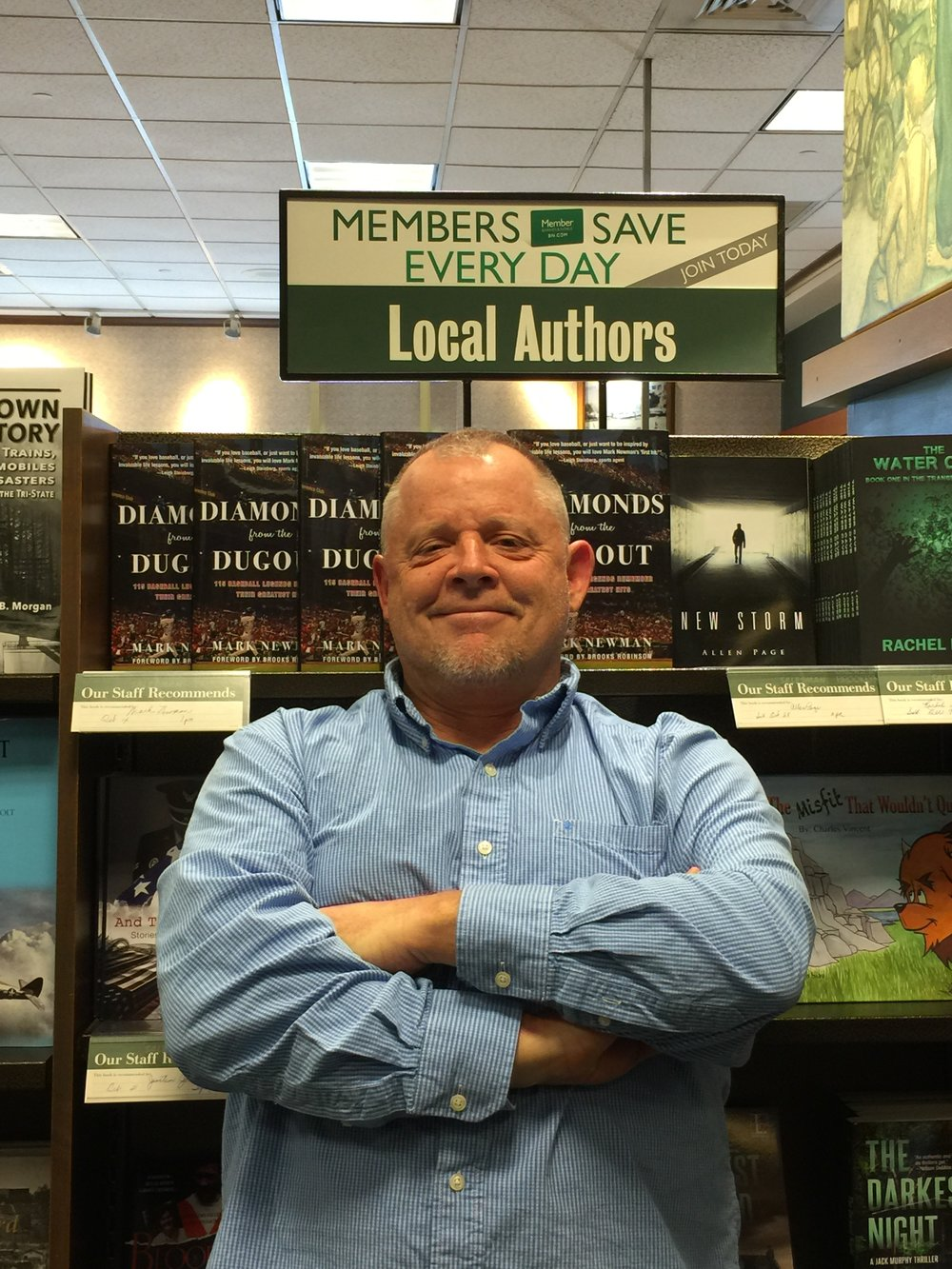 I'm a Local Author in Evansville, Indiana.