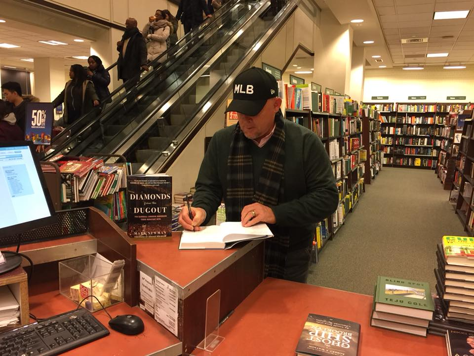 Signing at Barnes & Noble Court Street in Brooklyn on Dec. 20, 2017