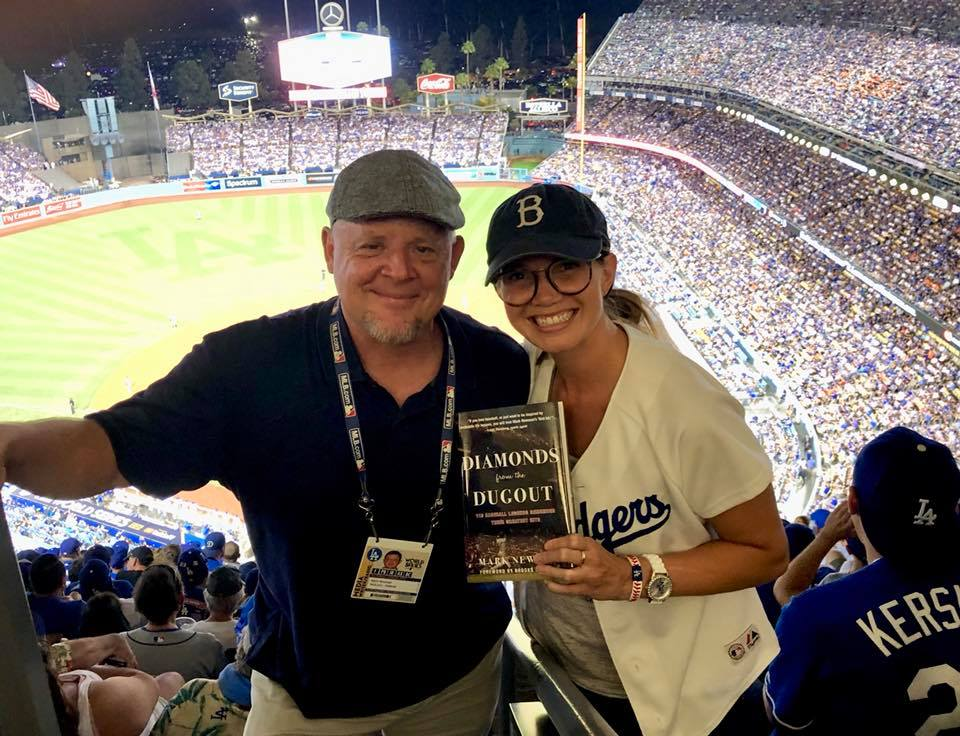 With Megan Ilertsen @ World Series