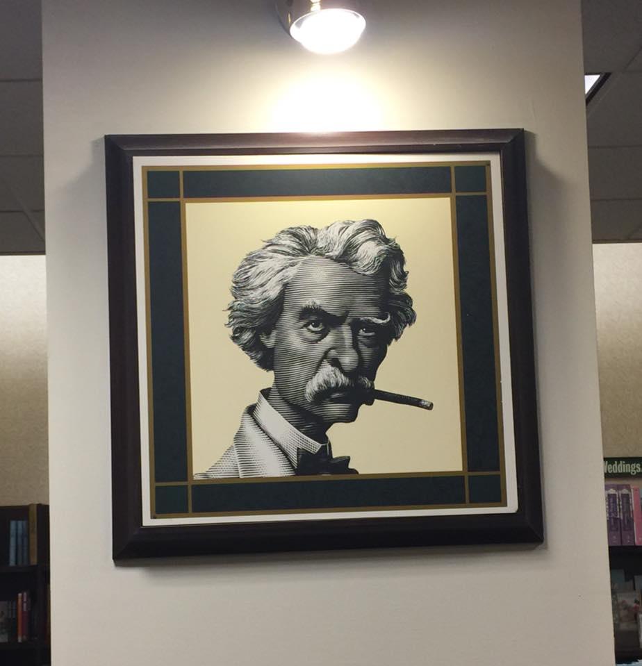 Mark Twain (at a BN store!)