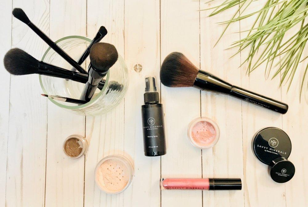 Young Living's Savvy Makeup Line