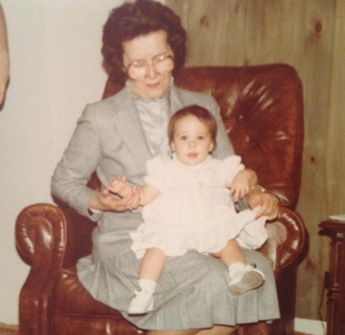 Grandma and Danielle