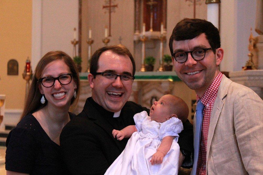 Miriam's baptism