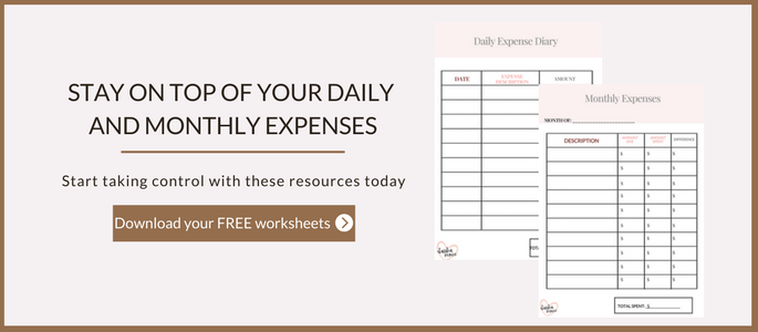 Expense Tracker free printables for single moms