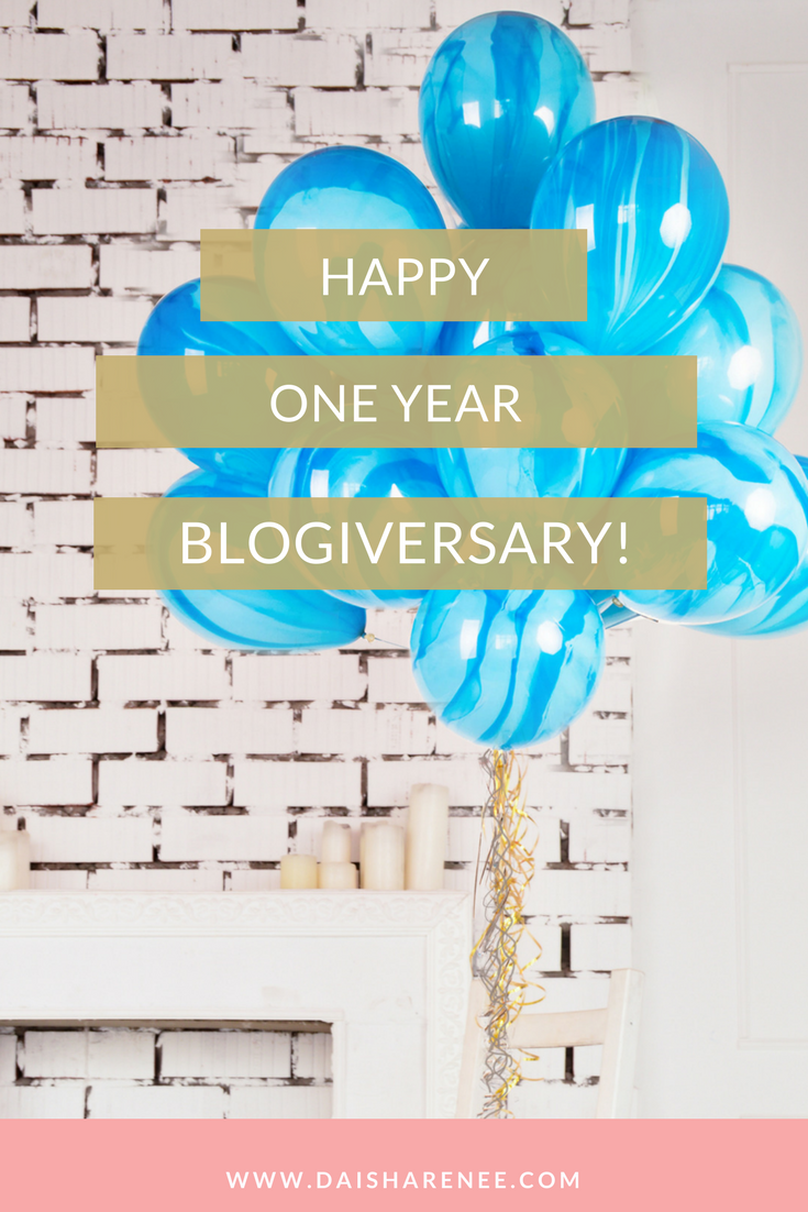 Wow! I can not believe it's been a year since I started my blog. Thank you sooooo much for being a part of the community. If you are not, what are you waiting for? As a subscriber you get dibs on giveaways, quarterly challenges, a private empowering and accountable Facebook group, and free printables.