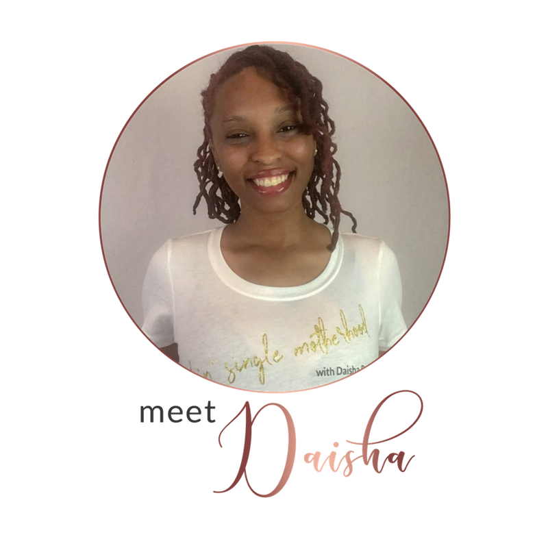 Hey there! - I'm Daisha, mama of three, lover of yoga, and  Netflix binger.Here on the blog, I love providing powerful solutions for overwhelmed single moms who struggle with balancing all the components of single motherhood.I also love providing FREE resources to help eliminate everyday overwhelm and maximize productivity with the printables from my digital library.Want to connect and share your experience? Feel free to hit the say hello or contact button anytime to send me an email!