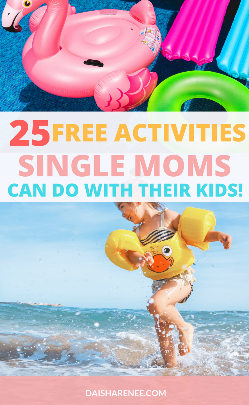 When I was researching free activities for kids to do in the Summer, I was finding a lot of activities mean for two-parent households. No worries, though I got you! You can also bring a friend or another member of the family for some of the activities, but I'll give more of the single mom-friendly ones. Here are # FREE summer activities you can do with your kids.