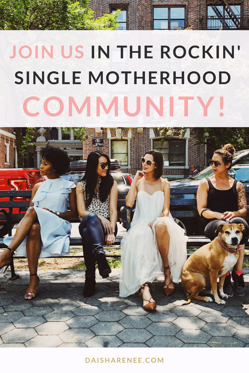 Join us in the Rockin' Single Motherhood Community membership site. If you're a single mom who wants to feel productive, more energetic, and organized! Get in there TODAY!