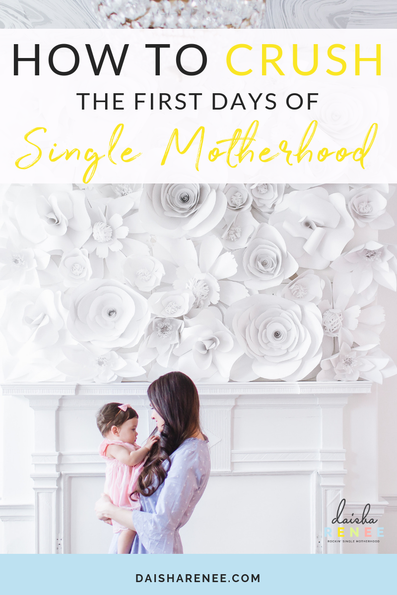 The day we enter single motherhood we are hit with a ton of uncertainty. Gone are the days of coming home to someone who is splitting the responsibilities of maintaining the home, bills, and children. Everything in your life is about to drastically change and that can be scary.