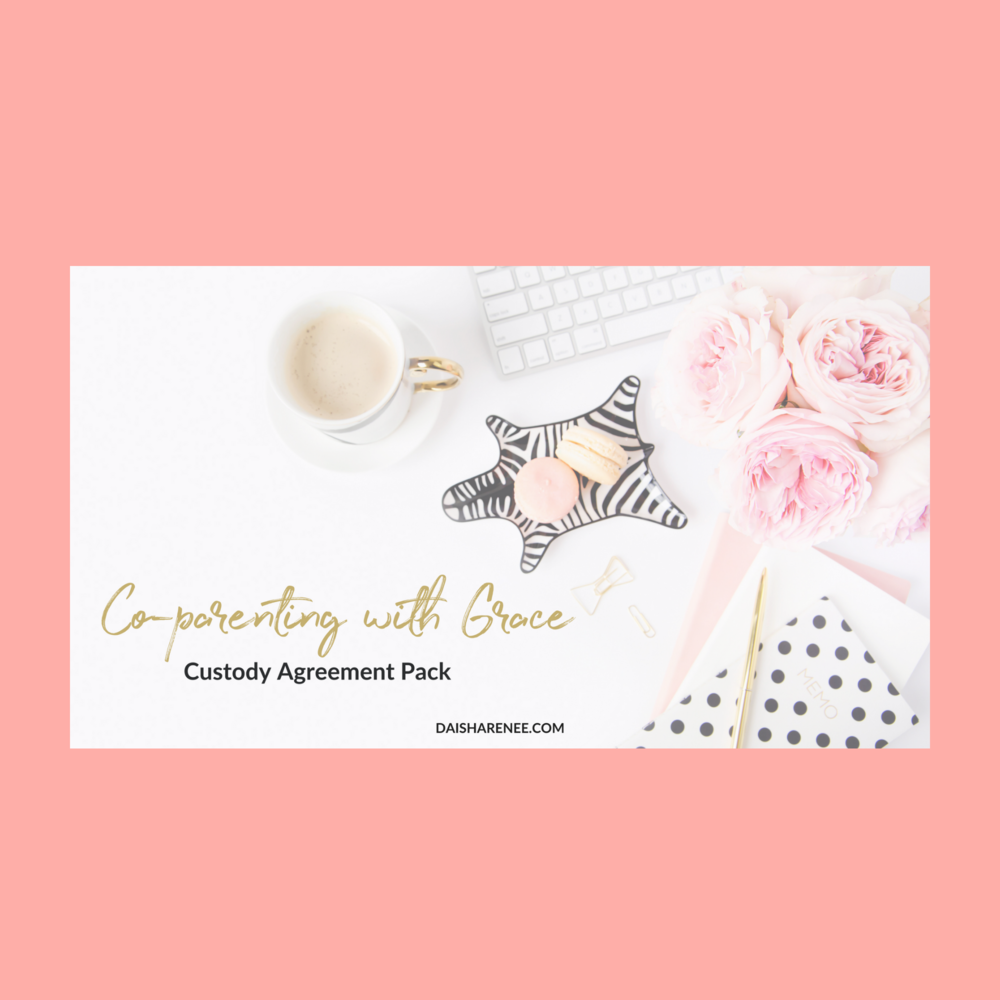 Co-parenting Strategy plan pack