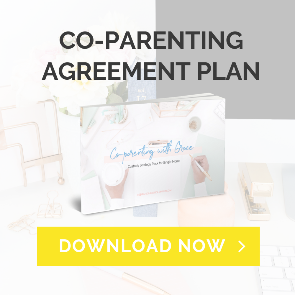 Co-parenting Single Moms Divorced