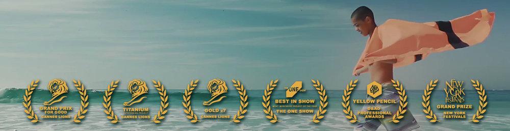 Winner 17 Cannes Liones