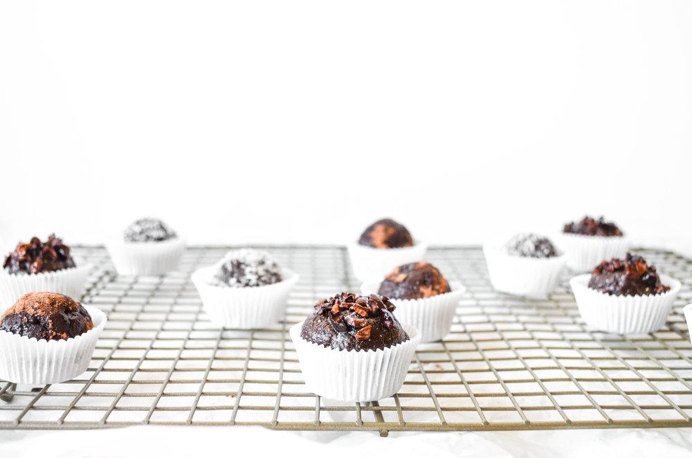 paleo cacao mocha truffles // #ShiraRD #paleo #refinedsugarfree #SnacksbyShira.jpg.jpg