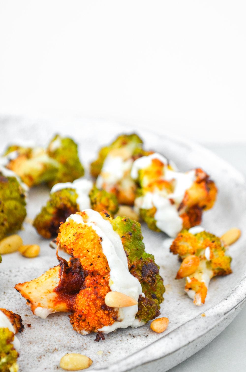 paleo-roasted-broccoflower-ShiraRD-paleo-refinedsugarfree-SnacksbyShira.jpg