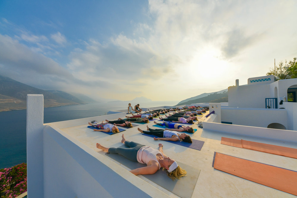 Join Us in greece - Retreats that will transform your practice and your life.