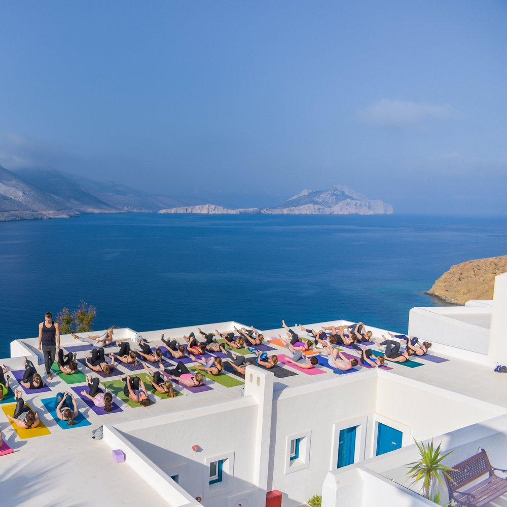 "The Jewel of amorgos - Defined ""the jewel of Amorgos"" by its guests, Aegialis Hotel and Spa has well deserved the title thanks to its breathtaking views over the crystal clear bay and the amenity of its location. Standing proudly on the top of a rocky hill, immersed in a green oasis of unspoiled nature, it responds to the guests' need for rest, peace and tranquility."