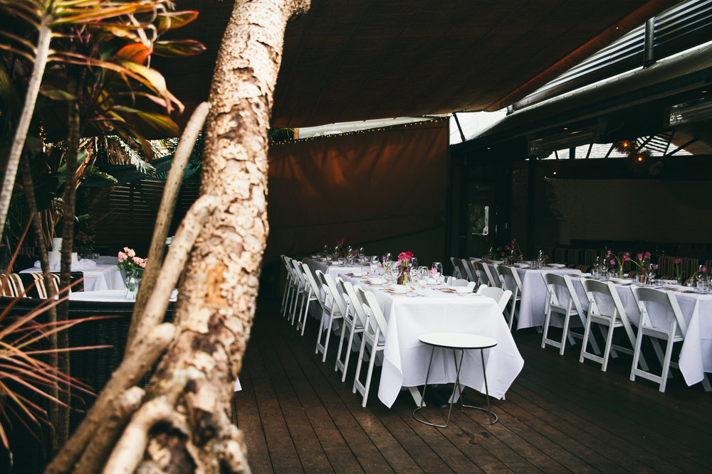 The Italian Byron Bay Wedding Reception