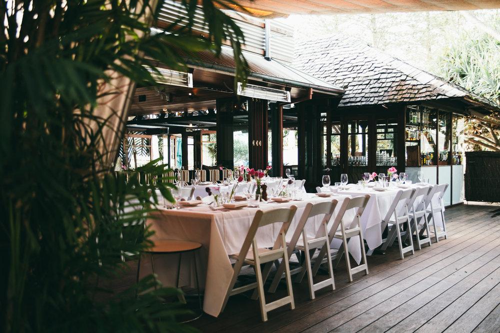 The Italian Byron Bay Outdoor Dining