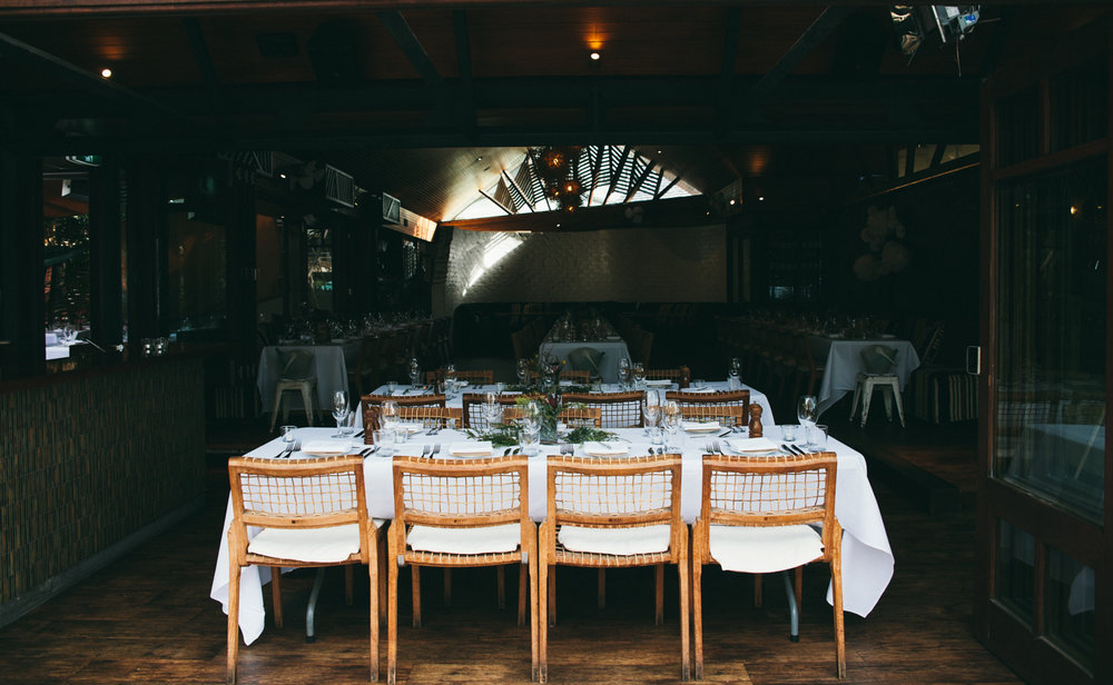 The Italian Byron Bay Courtyard Dining