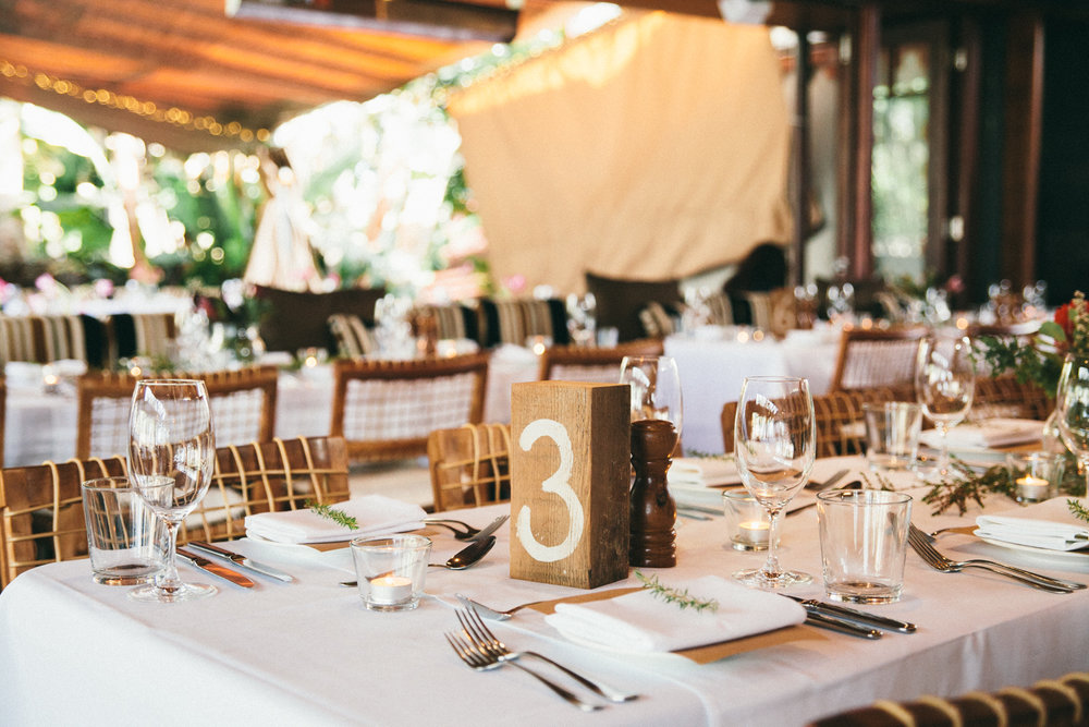 The Italian Byron Bay Wedding Table Setting