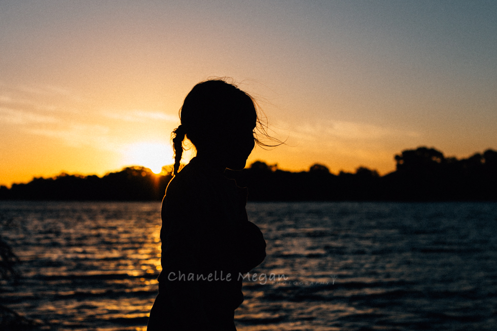 sunset silhouette