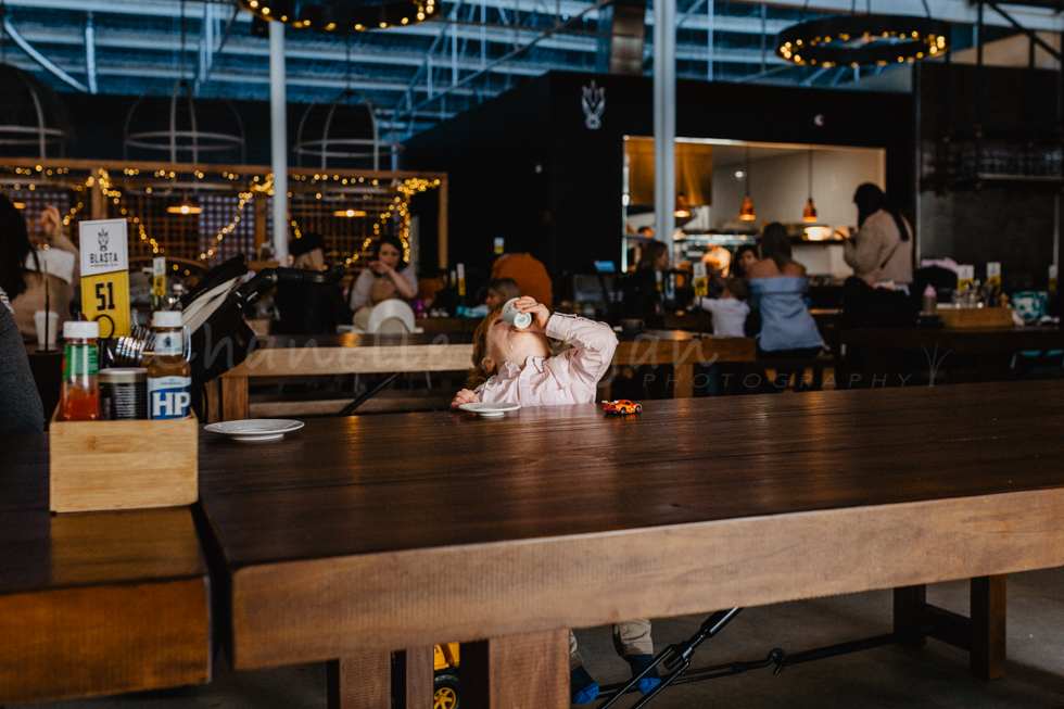 Baby Chinos all round for this little guy at Blasta Brewing Co in Perth. Event photography by Chanelle Megan Photography