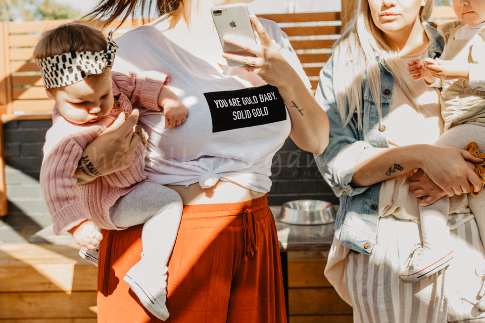 You are gold baby. Solid gold. Perth photographer capturing the details at a Perth Mamas Event by Chanelle Megan Photography
