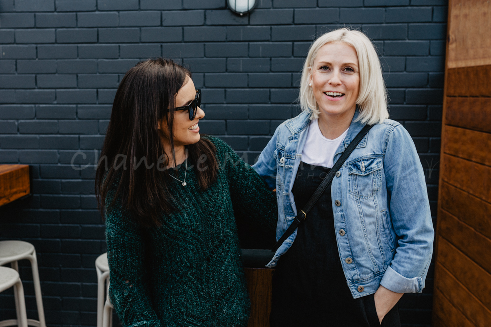 The two founders of Perth Mamas; Lauren and Laura at one of their events by Chanelle Megan Photography