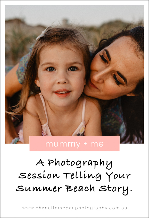 A mummy and me photography session on the beach by Chanelle Megan Photography