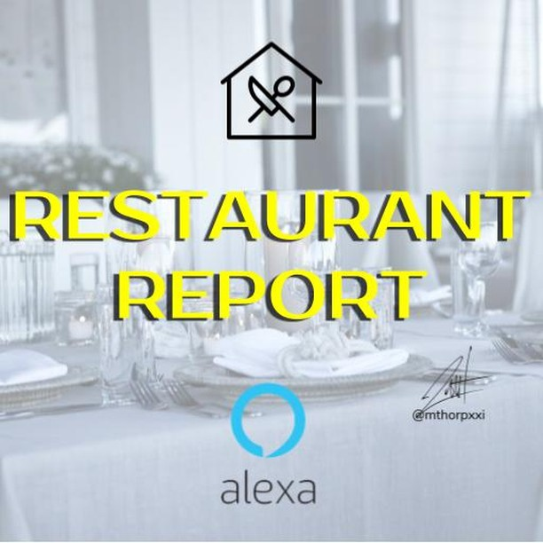 """Thank you to all of the Restaurant Report subscribers! It's been exciting engaging with so many great people across iTunes, Anchor, Google Play, and now Alexa. • Just say """"Alexa, Enable Restaurant Report"""" for the most recent full episode • Just say """"Alexa, Enable Restaurant Report 365"""" for short & relevant content • • • • • • • #restaurant #podcast #alexa #itunes #googleplay #foodie #manager #owner #chef #industry #profit #michigan #grandrapids •"""