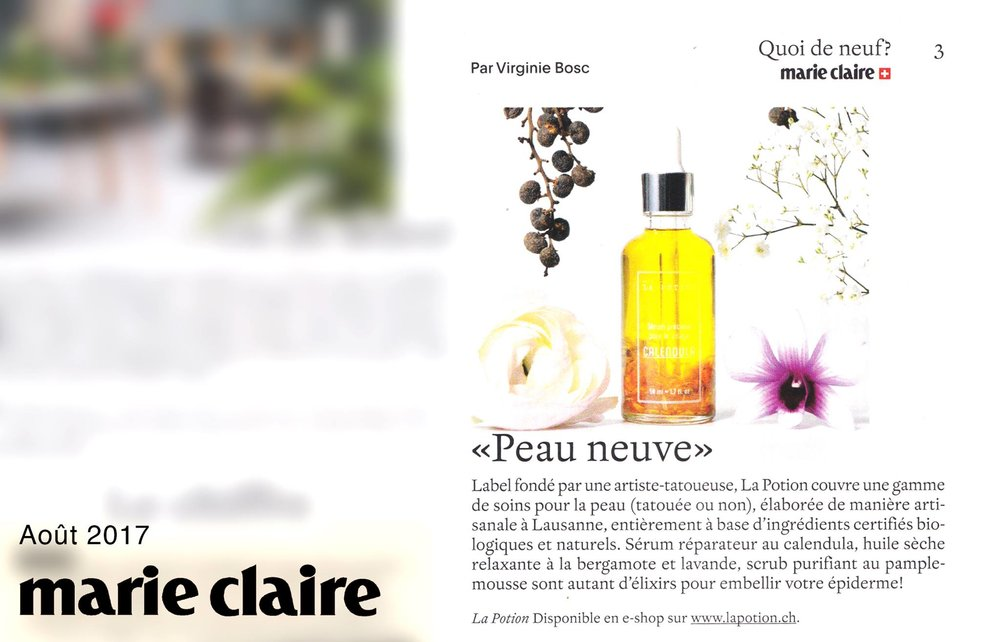 Marie Claire - août 2017