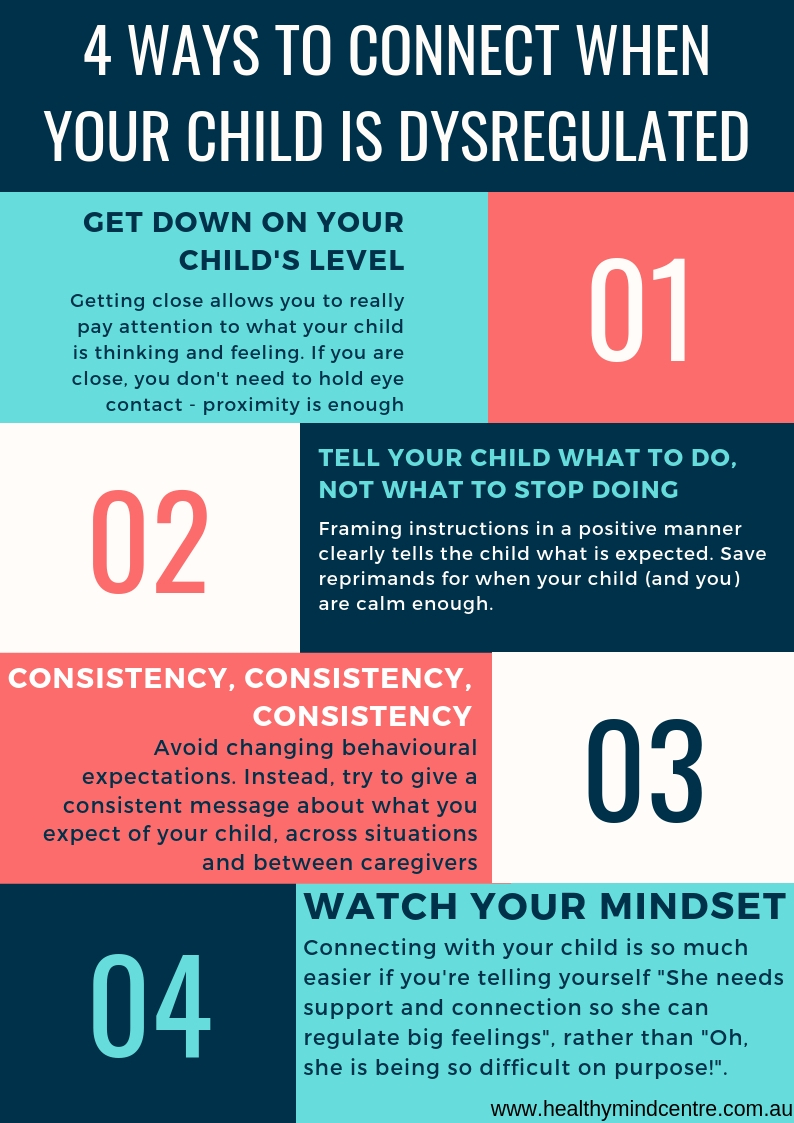 Check out these 4 hot tips for maintaining connections when your child looses control -