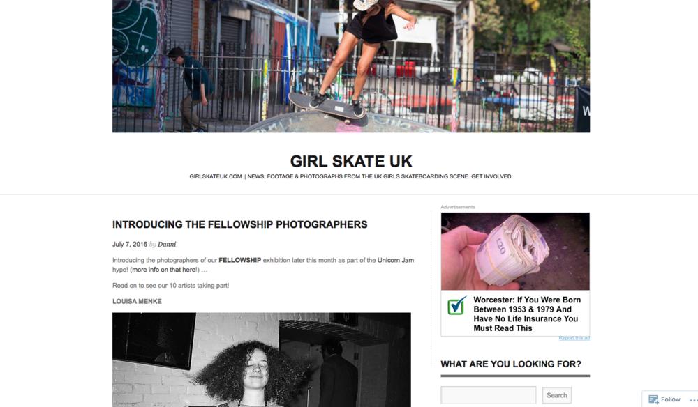 GIRL SKATE UK -