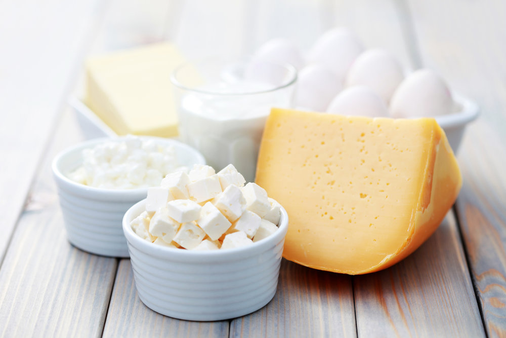 dairy, eggs & honey -