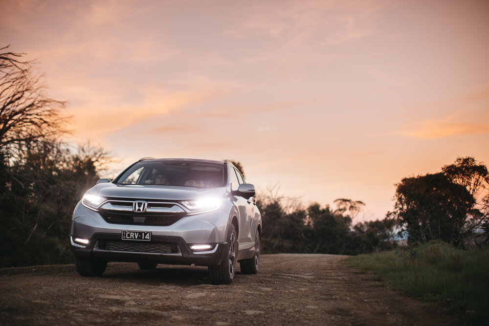 honda CR-v - adventure ready